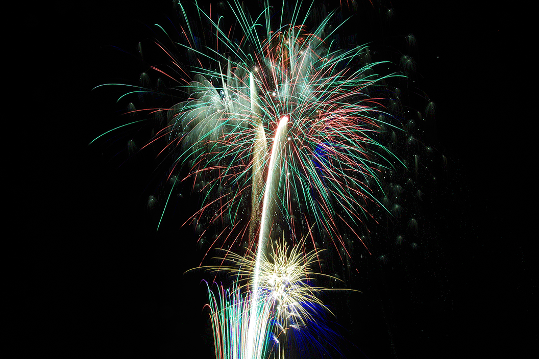 Fireworks Celebration at Rockets Over Rhema