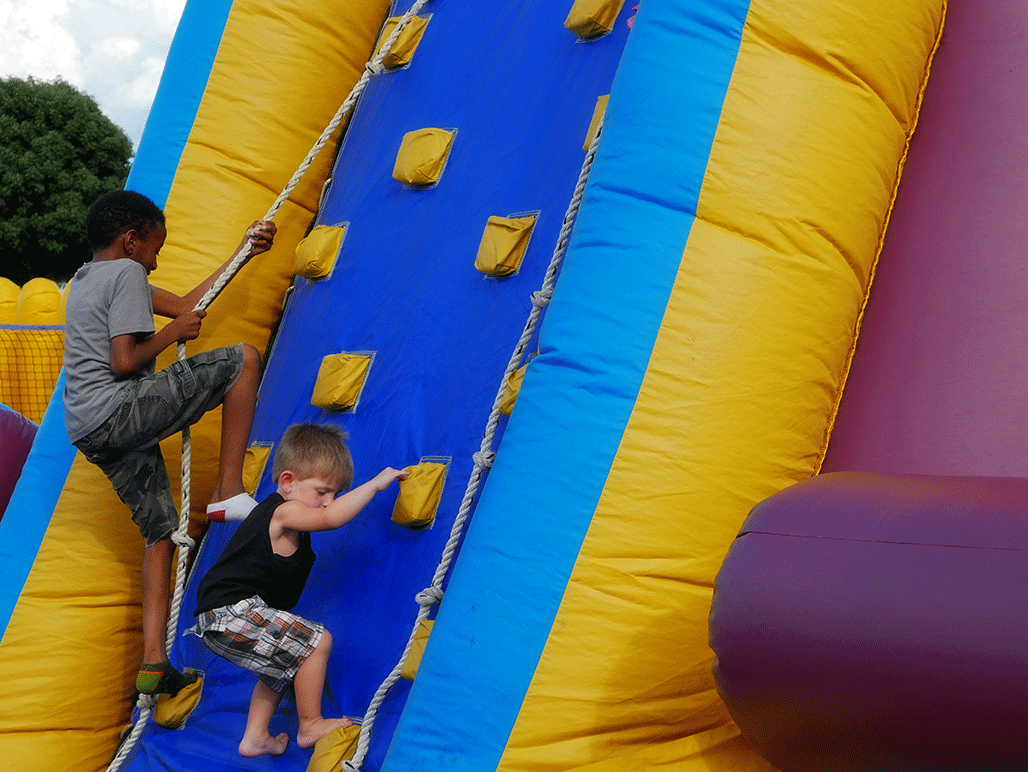 Inflata-Zone at Rockets Over Rhema